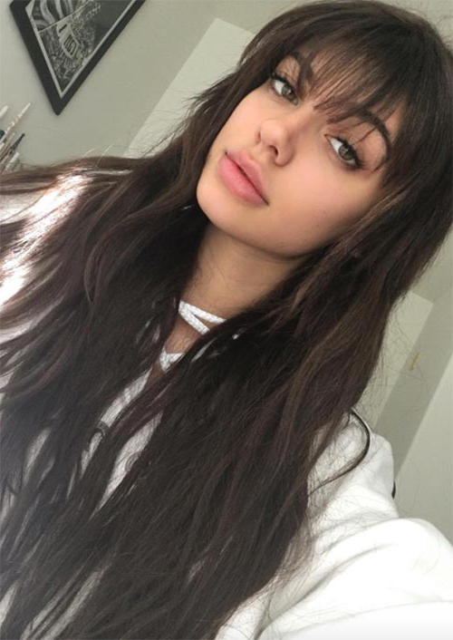 55 Long Haircuts With Bangs For 2019: Tips For Wearing Fringe Intended For Long Hairstyles With Fringes (View 23 of 25)