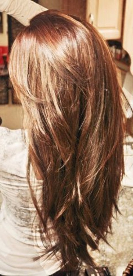55 Lovely Long Hair Ladies With Layers – Hairstyles & Haircuts For For Effortlessly Layered Long Hairstyles (View 23 of 25)