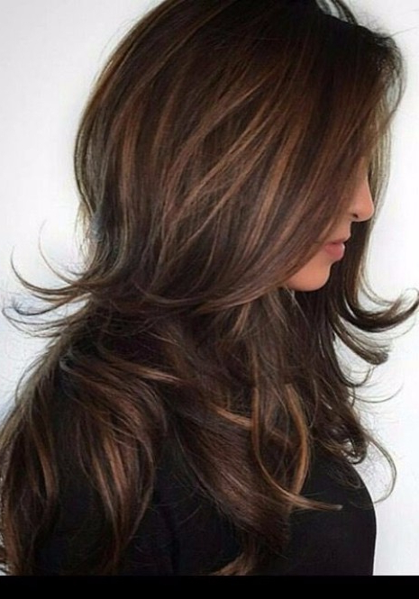 55 Lovely Long Hair Ladies With Layers – Hairstyles & Haircuts For Inside Choppy Dimensional Layers For Balayage Long Hairstyles (View 13 of 25)