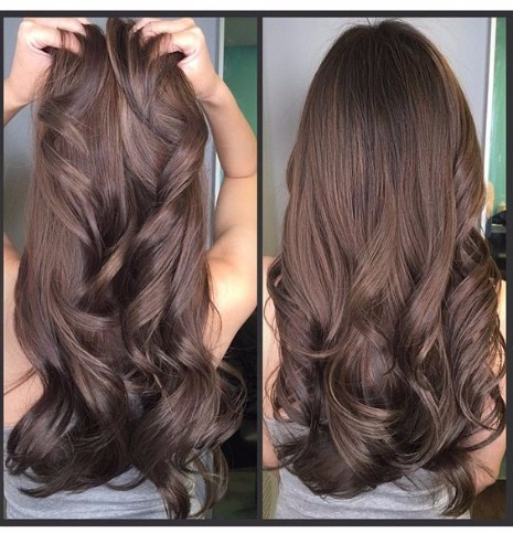55 Lovely Long Hair Ladies With Layers – Hairstyles & Haircuts For Intended For Long Hairstyles Brunette Layers (View 15 of 25)