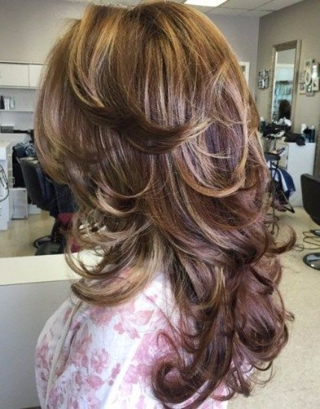 55 Lovely Long Hair Ladies With Layers – Hairstyles & Haircuts For Regarding Swoopy Flipped Layers For Long Hairstyles (View 9 of 25)