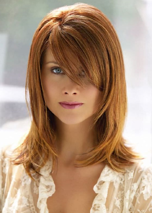 55 Of The Most Attractive Strawberry Blonde Hairstyles With Long Feathered Strawberry Blonde Haircuts (View 24 of 25)