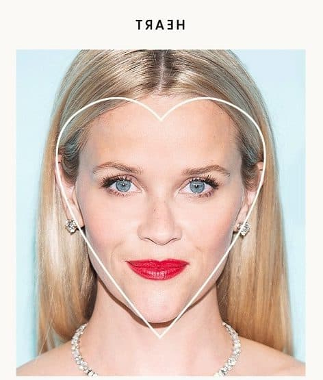 55 Perfect Hairstyles For Heart Shaped Faces – Hairstylecamp With Regard To Long Haircuts For Heart Shaped Faces (View 21 of 25)