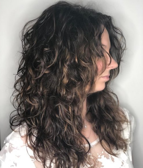 55 Perfect Hairstyles For Thick Hair (Popular For 2019) Pertaining To Long Haircuts For Thick Curly Hair (View 4 of 25)