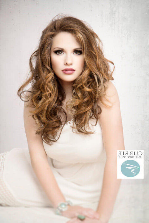 55 Perfect Hairstyles For Thick Hair (Popular For 2019) With Regard To Long Hairstyles Thick Wavy Hair (View 19 of 25)