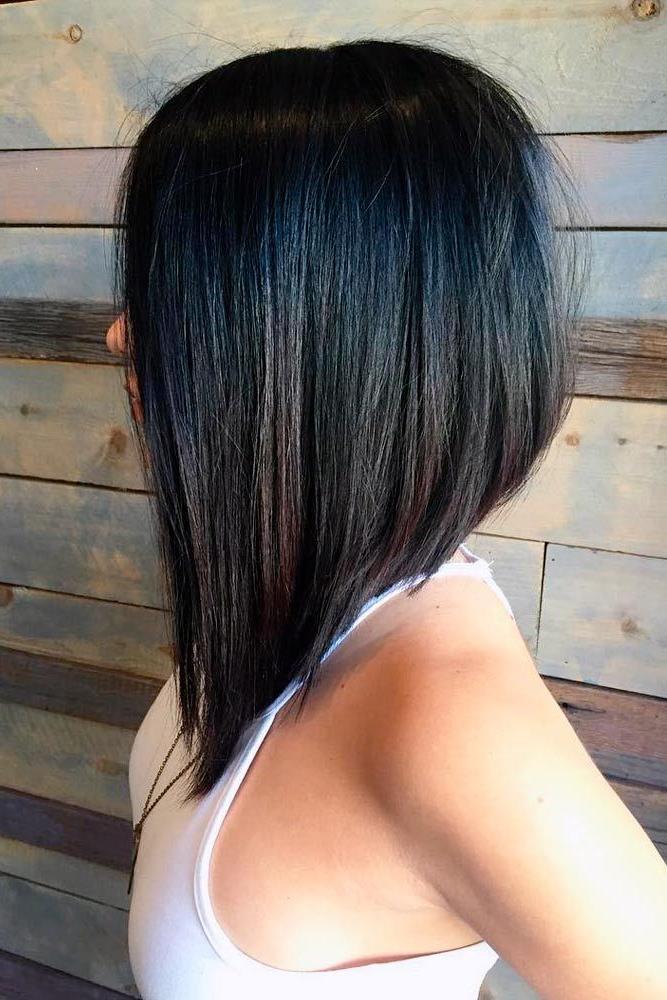 55 Popular Short Bob Haircuts Hairstyles | Short Hair | Hair, Hair With Regard To Hairstyles Long Front Short Back (View 3 of 25)
