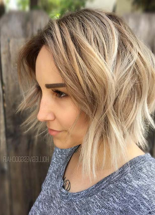 55 Short Hairstyles For Women With Thin Hair | Fashionisers© Intended For Long Hairstyles For Fine Thin Hair (View 23 of 25)