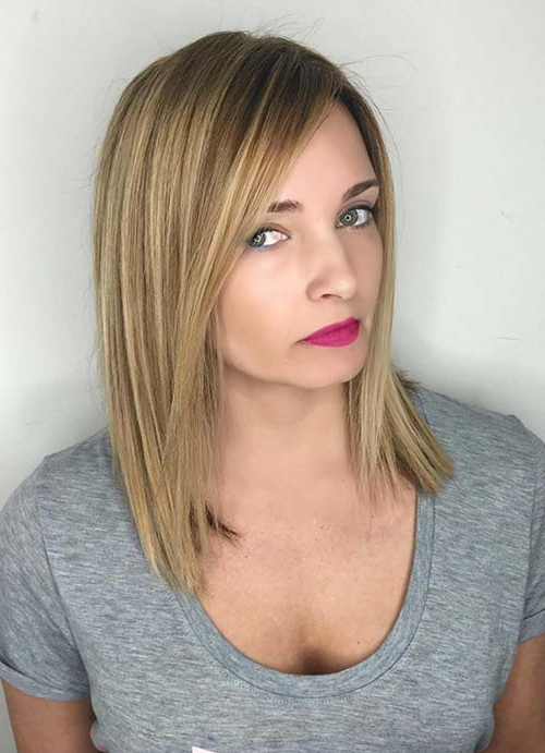55 Short Hairstyles For Women With Thin Hair | Fashionisers© Regarding Long Hairstyles Straight Fine Hair (View 8 of 25)