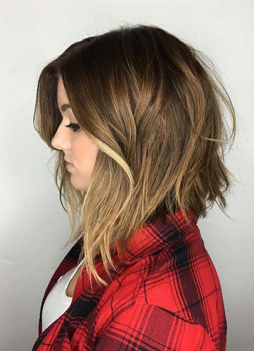 55 Short Hairstyles For Women With Thin Hair | Fashionisers© With Messy Layered Haircuts For Fine Hair (View 16 of 24)