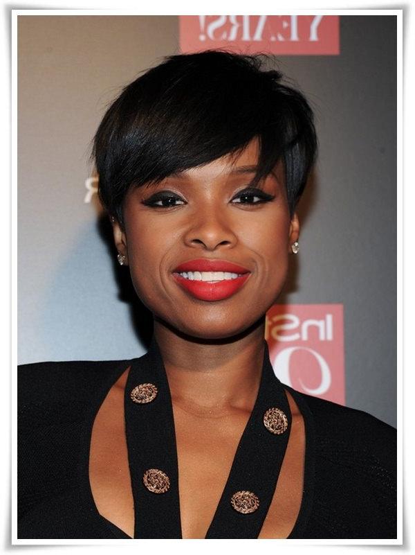 55 Winning Short Hairstyles For Black Women Pertaining To Cute Long Hairstyles For Black Women (View 23 of 25)
