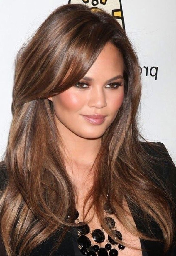56 Fabulous Hairstyles For Women With Round Face Shape Throughout Long Haircuts Round Face (View 12 of 25)
