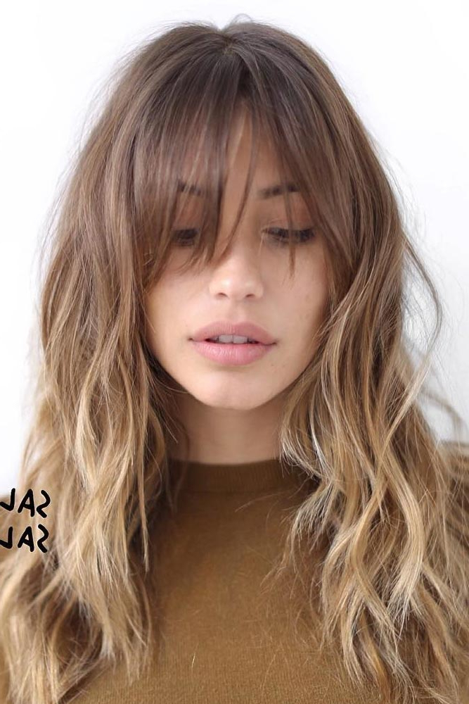 57 Of The Most Beautiful Long Hairstyles With Bangs – Highpe For Long Haircuts With Fringes (View 5 of 25)
