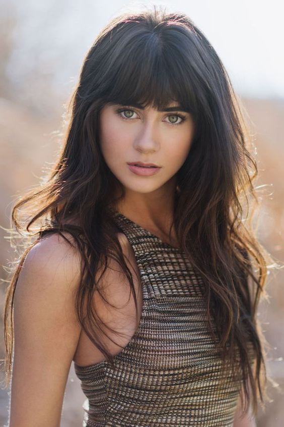 57 Of The Most Beautiful Long Hairstyles With Bangs – Highpe Pertaining To Best Long Hairstyles With Bangs (View 8 of 25)