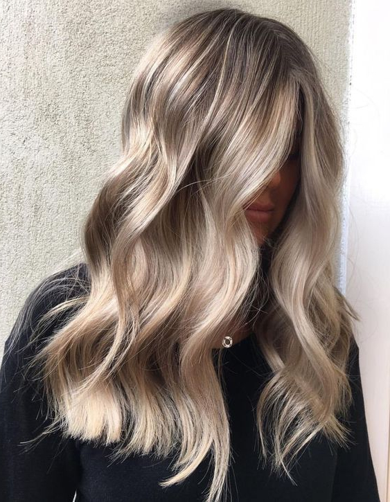 58 Medium Length Hairstyle Ideas   Hairstyles&haircuts   Hair Styles Inside Soft Feathery Texture Hairstyles For Long Hair (View 24 of 25)