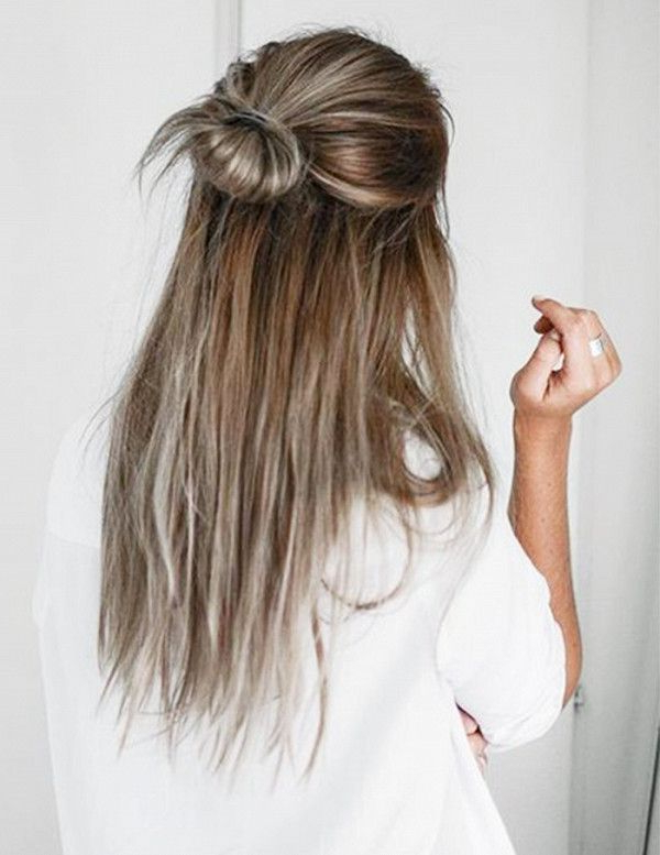 6 5 Minute Hairstyles For Long Hair In 2019 | Beauty | Hair Styles Pertaining To Long Hairstyles Pulled Up (View 8 of 25)
