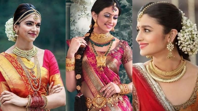 6 Chic South Indian Wedding Hairstyles For Long Hair [June (View 16 of 25)