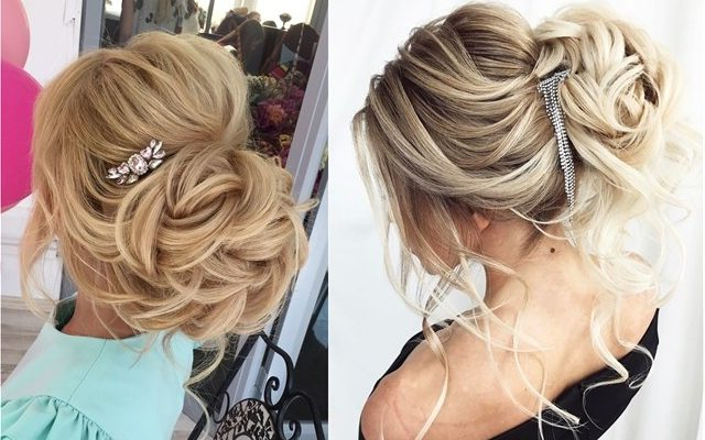 60 Elstile Wedding Updos Hairstyles You'll Love – Hi Miss Puff Intended For Long Hairstyles Updos For Wedding (View 24 of 25)