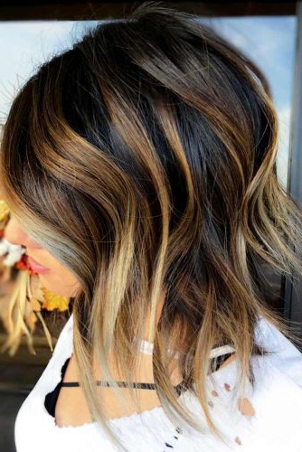 60 Fantastic Stacked Bob Haircut Ideas | Lovehairstyles Within Blonde Textured Haircuts With Angled Layers (View 20 of 25)
