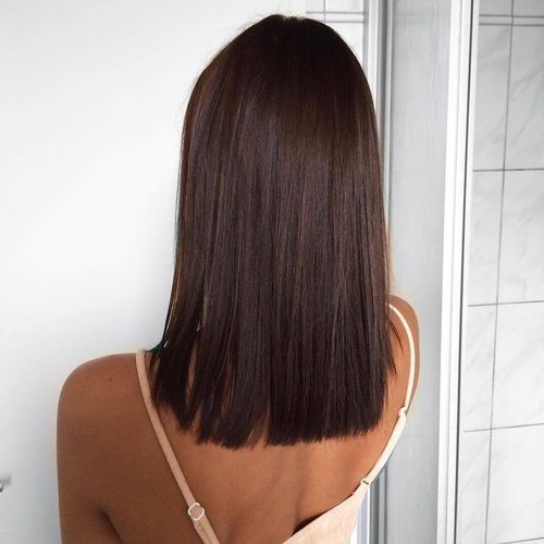 60 Gorgeous Blunt Cut Hairstyles – The Haircut That Works On Throughout Blunt Long Hairstyles (View 8 of 25)