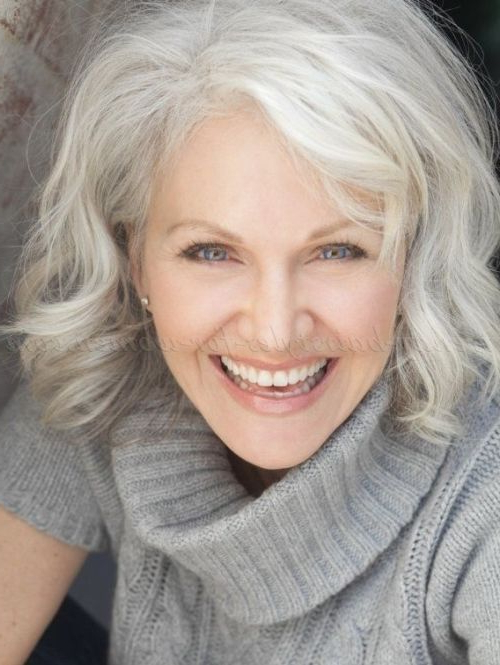 60 Gorgeous Gray Hair Styles In 2019 | Grey Is Beautiful | Hair With Long Hairstyles For Grey Hair (View 25 of 25)
