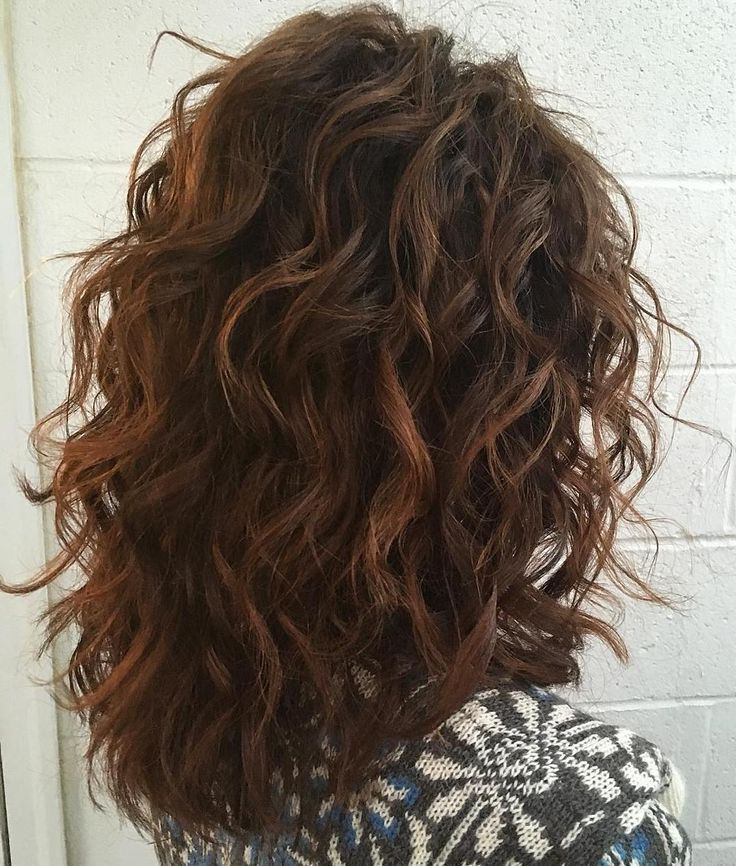 60 Most Magnetizing Hairstyles For Thick Wavy Hair In 2019 | Curly Pertaining To Long Haircuts For Thick Wavy Hair (View 6 of 25)