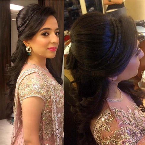 60+ Traditional Indian Bridal Hairstyles For Your Wedding Within Indian Wedding Long Hairstyles (View 8 of 25)