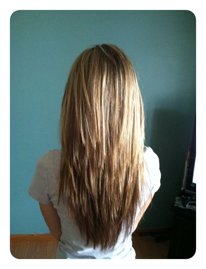 60 V Cut And U Cut Hairstyles To Give You The Right Angle With Regard To Long Hairstyles V Cut (View 11 of 25)