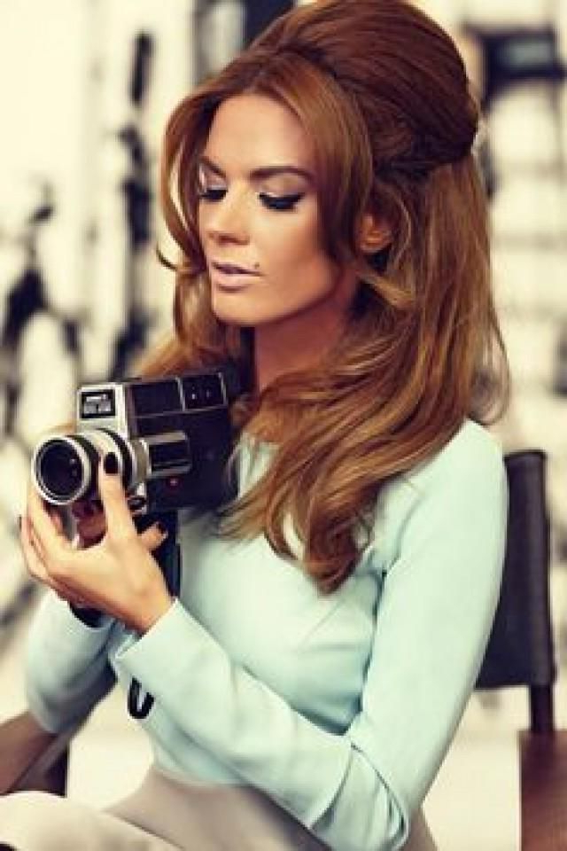 60S Hairstyles For Women To Look Iconic | 60's Shoot Inspiration With Long Hair Vintage Styles (View 5 of 25)