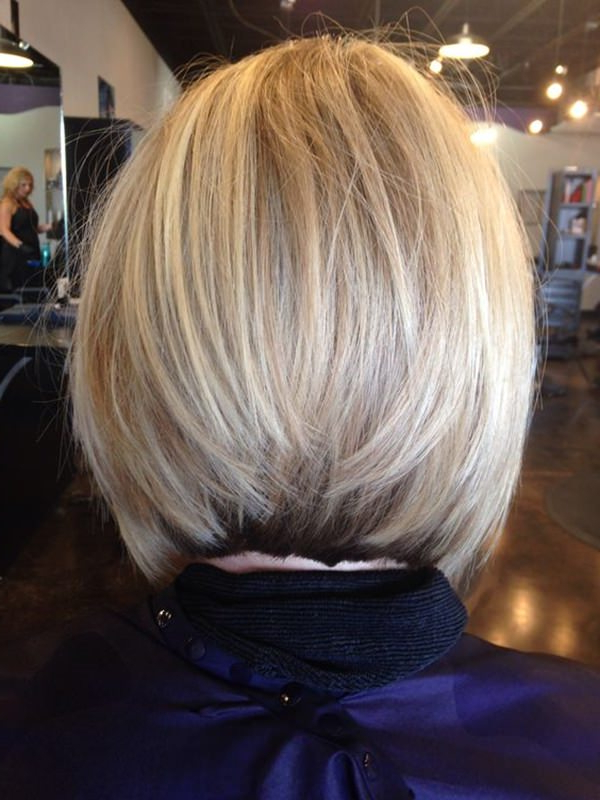 61 Charming Stacked Bob Hairstyles That Will Brighten Your Day In Stacked Long Haircuts (View 15 of 25)