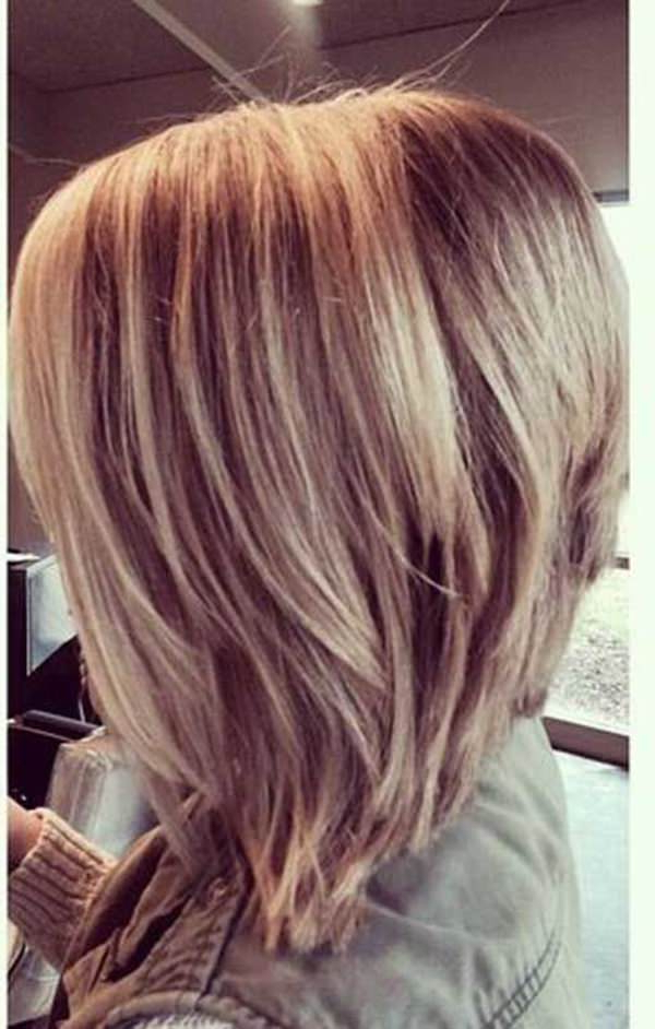61 Charming Stacked Bob Hairstyles That Will Brighten Your Day Intended For Stacked Long Haircuts (View 6 of 25)