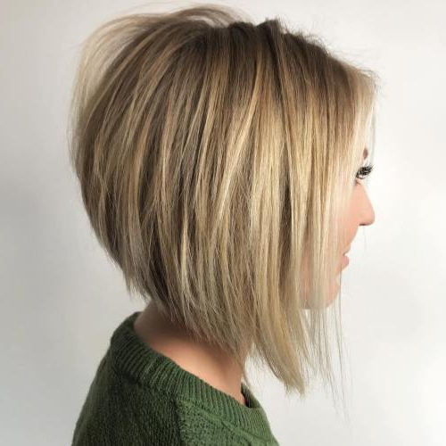 61 Charming Stacked Bob Hairstyles That Will Brighten Your Day Intended For Stacked Long Haircuts (View 4 of 25)