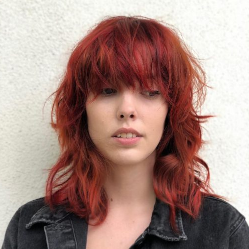 61 Chic Medium Shag Haircuts For 2019 With Medium Long Shaggy Hairstyles (View 12 of 25)