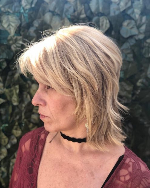 61 Chic Medium Shag Haircuts For 2019 With Regard To Long Shaggy Hairstyles For Fine Hair (View 7 of 25)