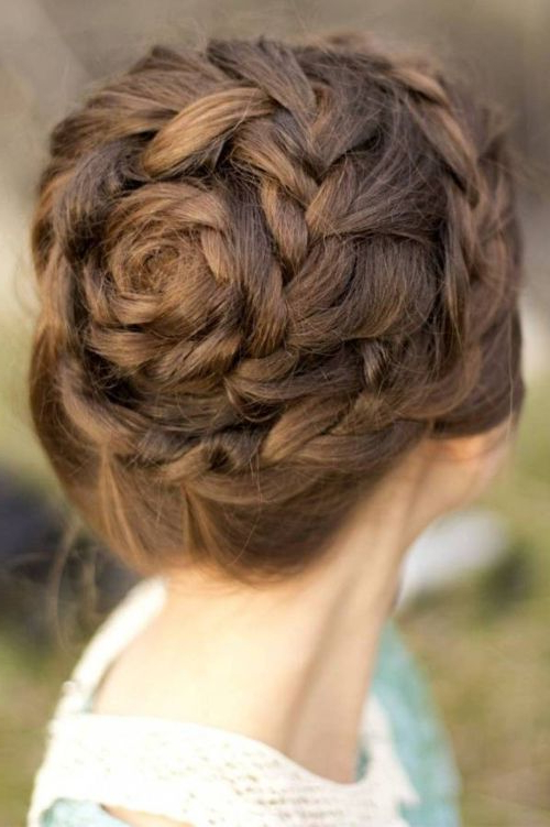 61 Cute & Easy Updos For Long Hair When You're In Hurry For Long Hairstyles Updos Casual (View 3 of 25)