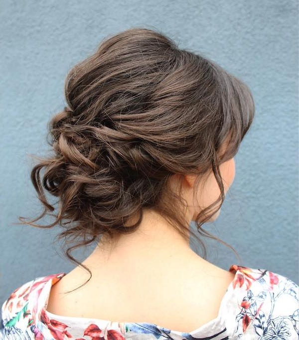 61 Cute & Easy Updos For Long Hair When You're In Hurry Pertaining To Long Hairstyles Updos Casual (View 17 of 25)
