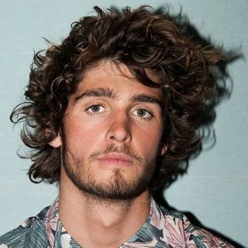 61 Natural Curly Hairstyles For Men – Men Hairstyles World Inside Men Long Curly Hairstyles (View 20 of 25)