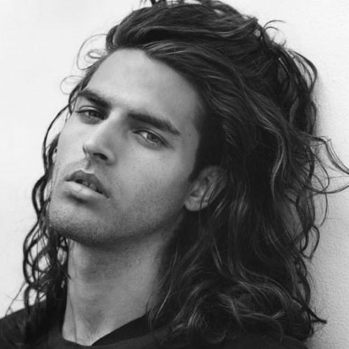 61 Natural Curly Hairstyles For Men – Men Hairstyles World With Regard To Long Curly Haircuts For Men (View 14 of 25)