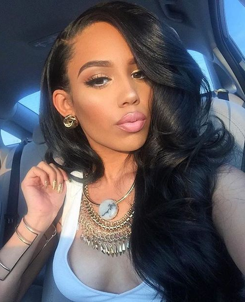 62 Appealing Prom Hairstyles For Black Girls For 2017 Inside Black Girls Long Hairstyles (View 13 of 25)