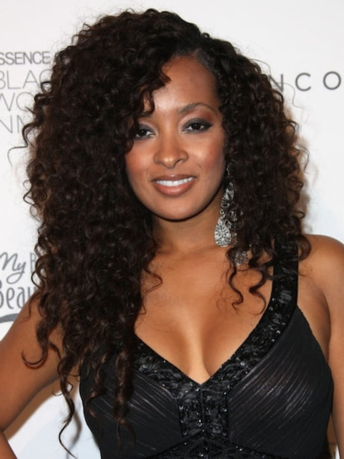 62 Appealing Prom Hairstyles For Black Girls For 2017 Within Curly Long Hairstyles For Black Women (View 13 of 25)