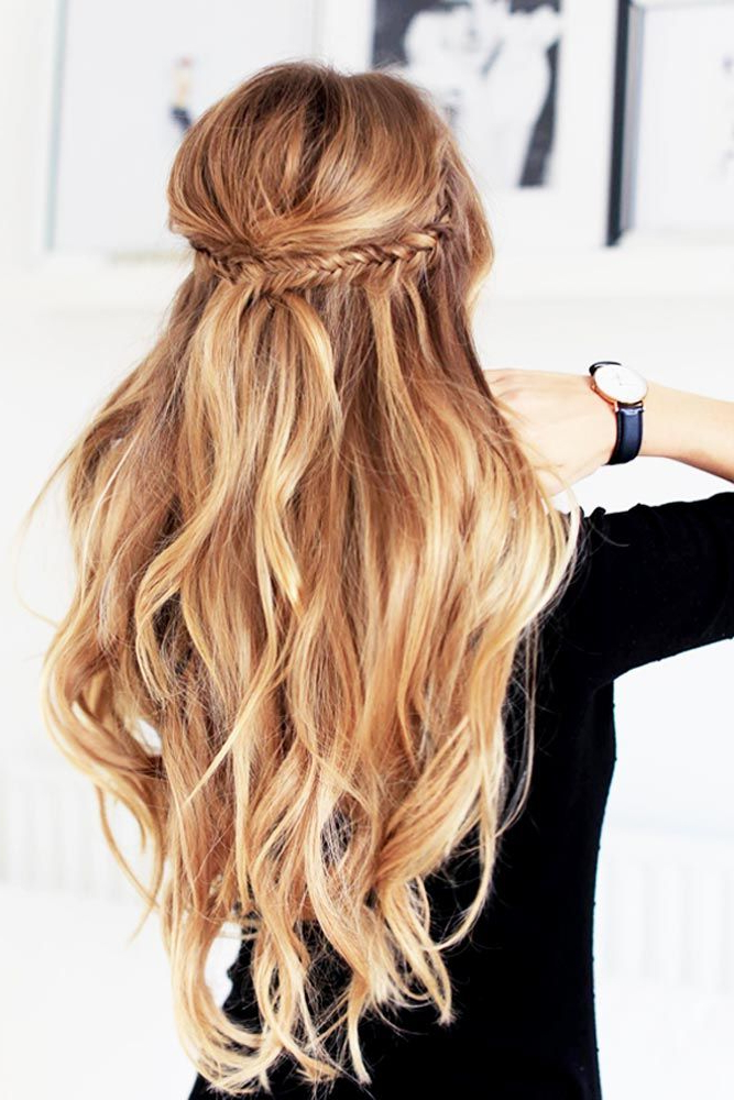 63 Amazing Braid Hairstyles For Party And Holidays | Hair | Hair With Long Hairstyles For Cocktail Party (View 4 of 25)
