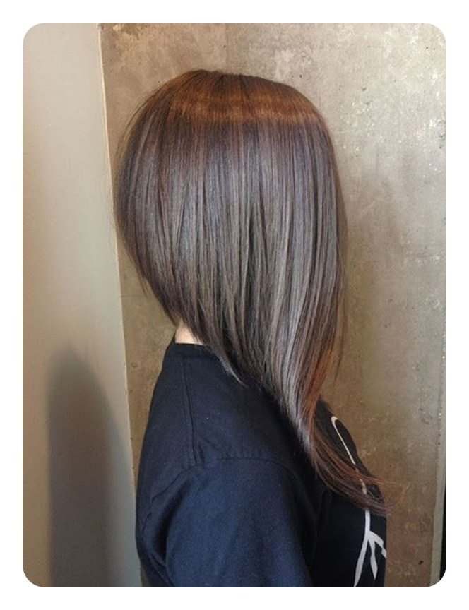 63 Refreshing Long Bob Hairstyles For 2019 Pertaining To Hairstyles Long Inverted Bob (View 13 of 25)