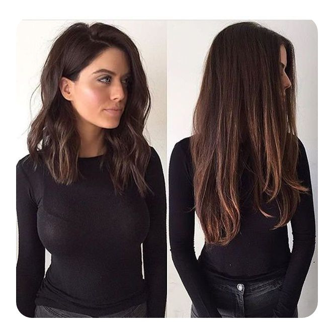 63 Refreshing Long Bob Hairstyles For 2019 With Long Hairstyles Bob (View 13 of 25)