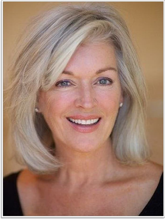 65 Gracious Hairstyles For Women Over 60 Pertaining To Long Hairstyles For Women Over (View 18 of 25)