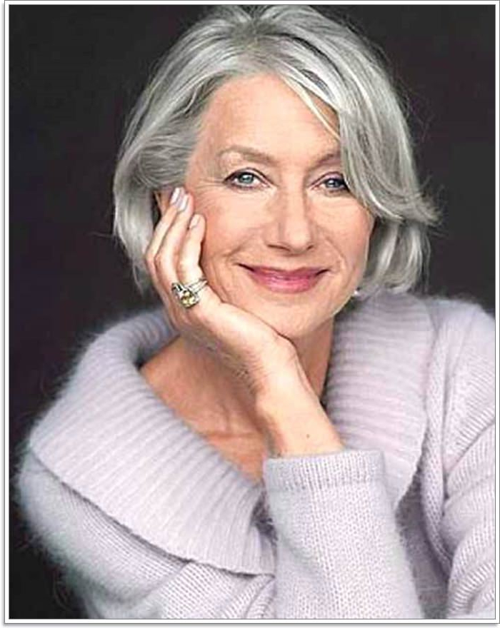 65 Gracious Hairstyles For Women Over 60 Throughout Long Hairstyles For Grey Haired Woman (View 22 of 25)