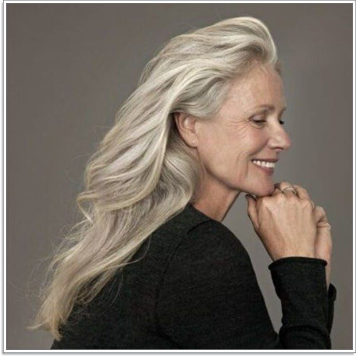 65 Gracious Hairstyles For Women Over 60 With Long Hairstyles Over (View 9 of 25)