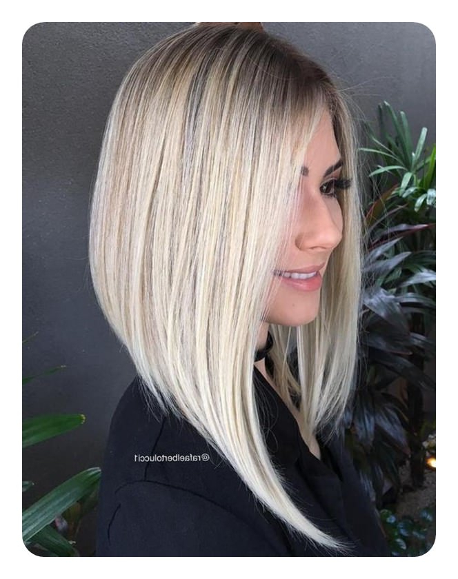 66 Beautiful Long Bob Hairstyles With Layers For 2019 – Style Easily In Long Hairstyles Cuts (View 23 of 25)