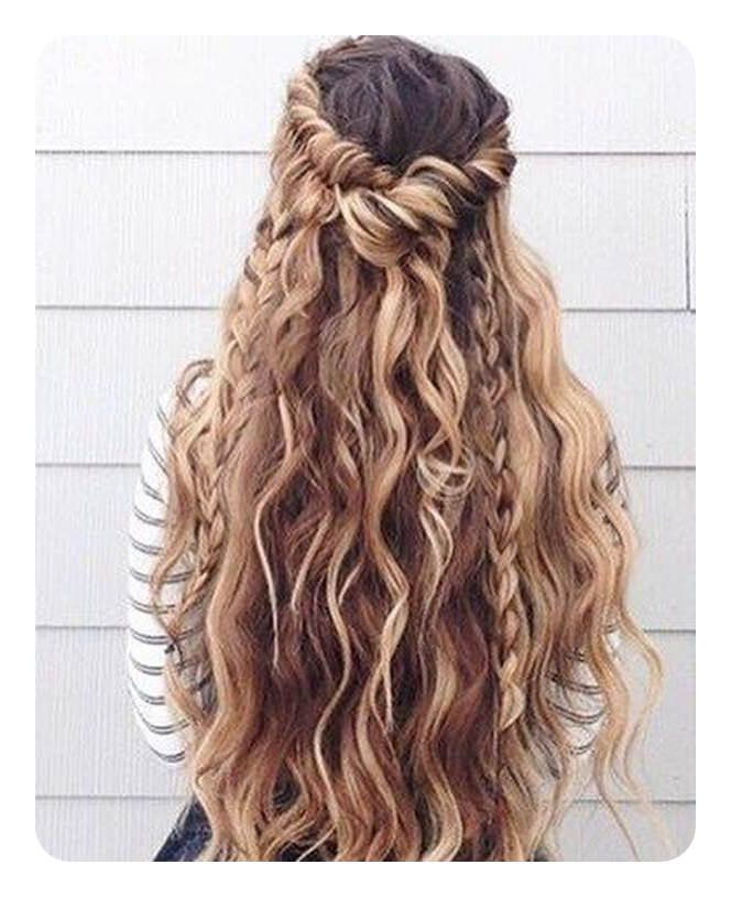 66 Boho Hairstyles For Curly And Straight Hair – Style Easily Regarding Boho Long Hairstyles (View 8 of 25)