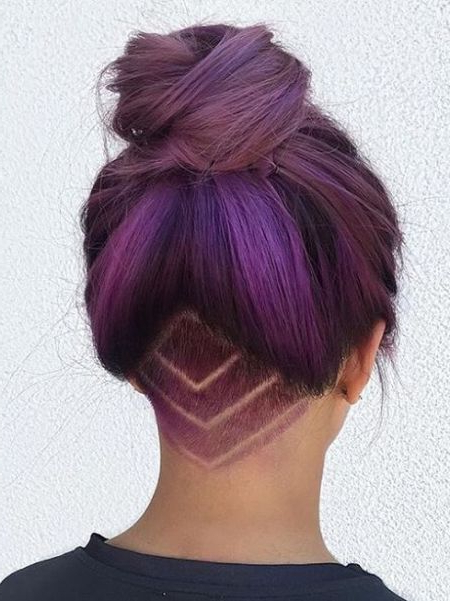 66 Shaved Hairstyles For Women That Turn Heads Everywhere For Long Hairstyles Shaved Underneath (View 2 of 25)
