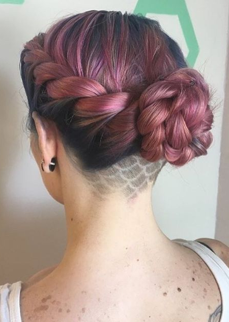 66 Shaved Hairstyles For Women That Turn Heads Everywhere Inside Long Hairstyles Shaved Underneath (View 12 of 25)