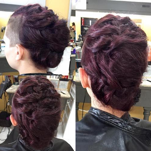 66 Shaved Hairstyles For Women That Turn Heads Everywhere Pertaining To Shaved Side Prom Hairstyles (View 10 of 25)
